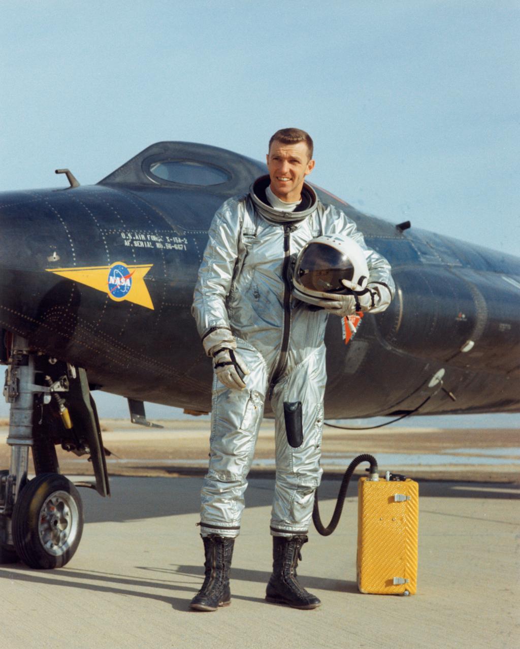 Joe Engle during the X-15 program.
