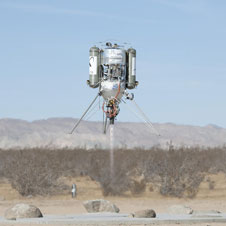 Lunar Lander Challenge (Photo courtesy of Tony Landis/NASA Dryden)