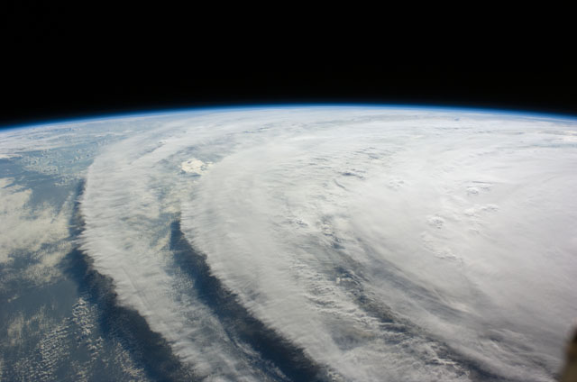 Image of Hurricane Ike taken by the crew of the International Space Station.