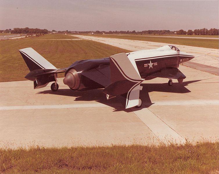 XFV-12A on ramp at NAA in Columbus, Ohio