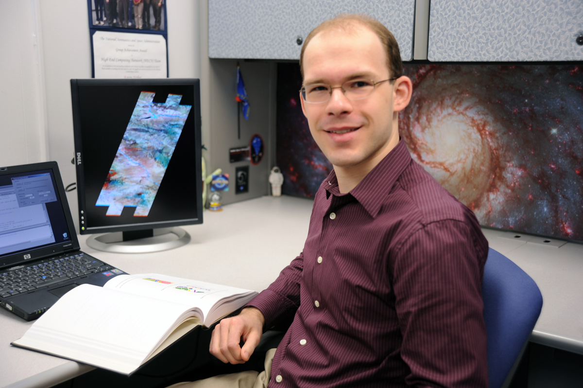Kevin Fisher, software systems engineer at Goddard Space Flight Center.