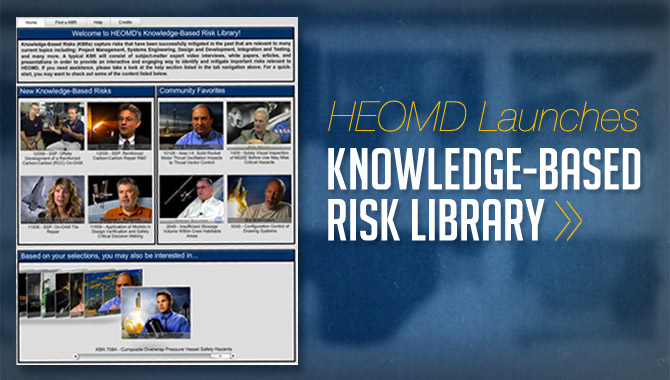 HEOMD Knowledge-Based Risk Library