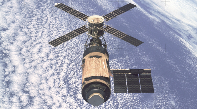 This Month in NASA History: Skylab Down