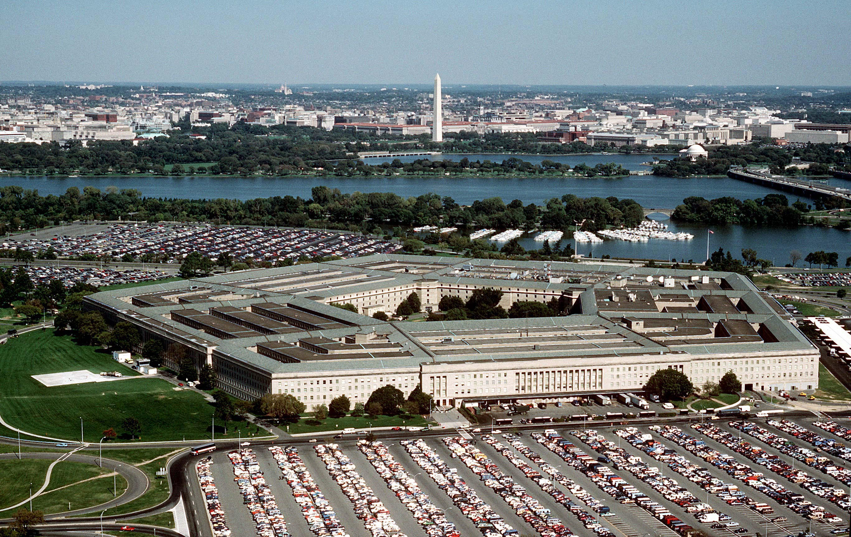 The Pentagon, headquarters of the Department of Defense.