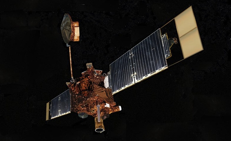 Artist's concept of Mars Global Surveyor. Image credit: NASA/JPL