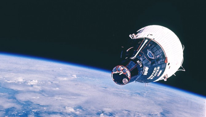 The Gemini VII spacecraft. Credit: NASA