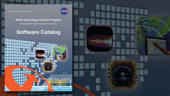 Cover image of NASA's Software Catalog