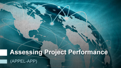 Assessing Project Performance (APPEL-vAPP)