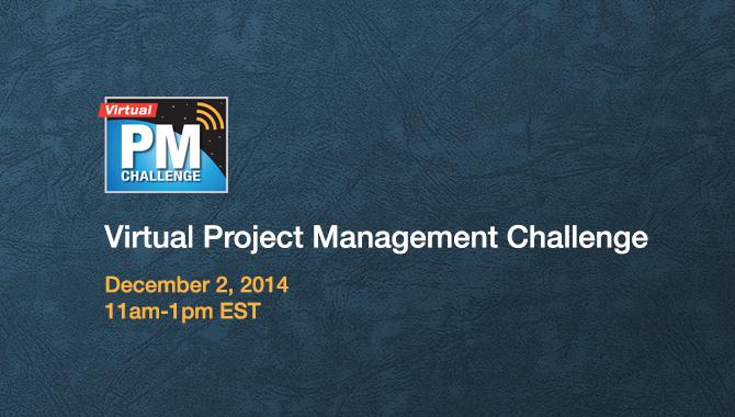 Virtual Project Management Challenge