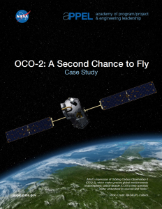 OCO-2: A Second Chance to Fly Case Study Cover