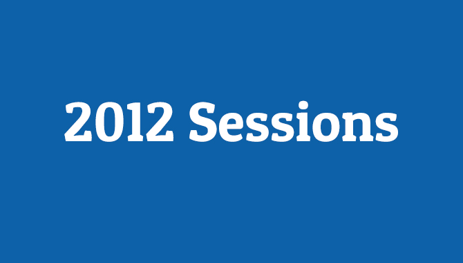 2012 VPMC Sessions