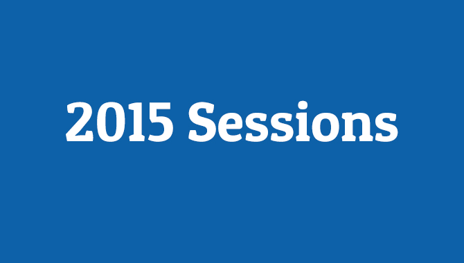 2015 VPMC Sessions