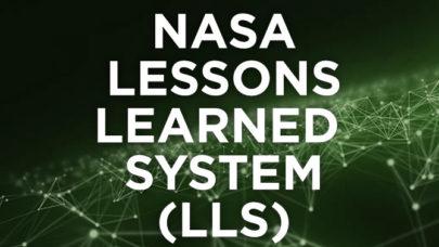 NASA Lessons Learned (LLIS)