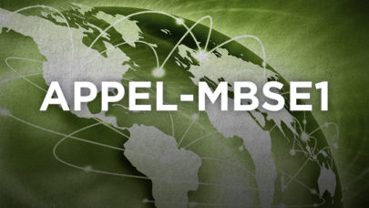 Foundations of MBSE (APPEL-MBSE1)