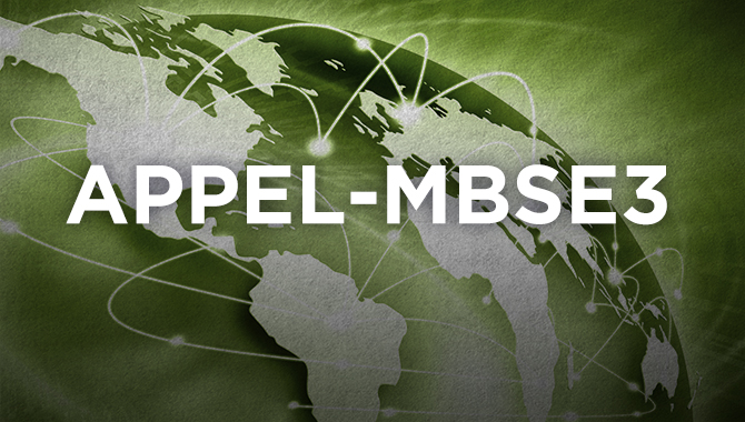 Model Based Systems Engineering Design and Analysis (APPEL-MBSE3)