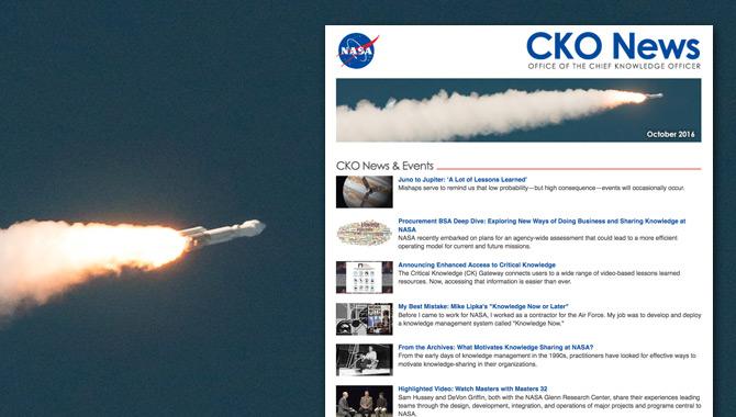 CKO News: October 2016