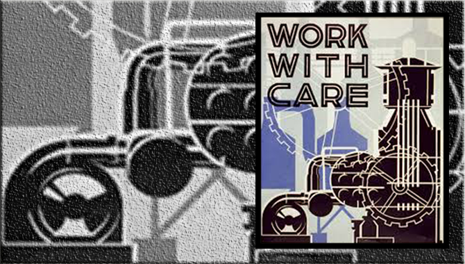 WPA work safety poster from the Library of Congress.. Image Credit: Library of Congress
