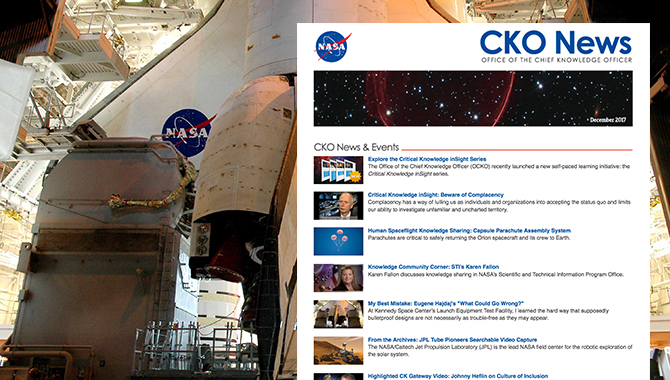 December 2017 <em>CKO News</em> Now Available