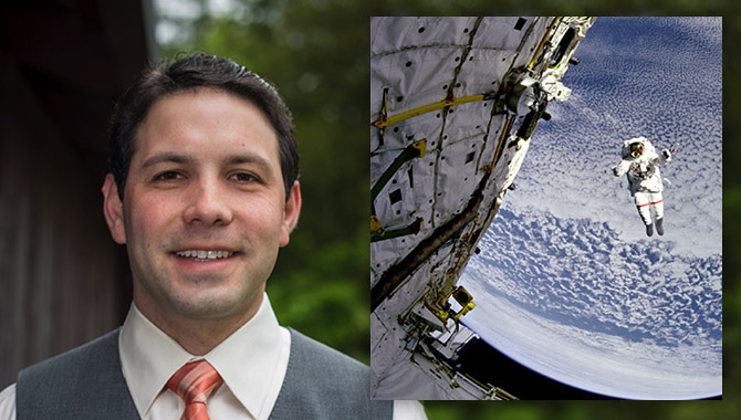 Patrick Johnson, Human Exploration Operation's Chief Knowledge Officer. Photo Credit: NASA