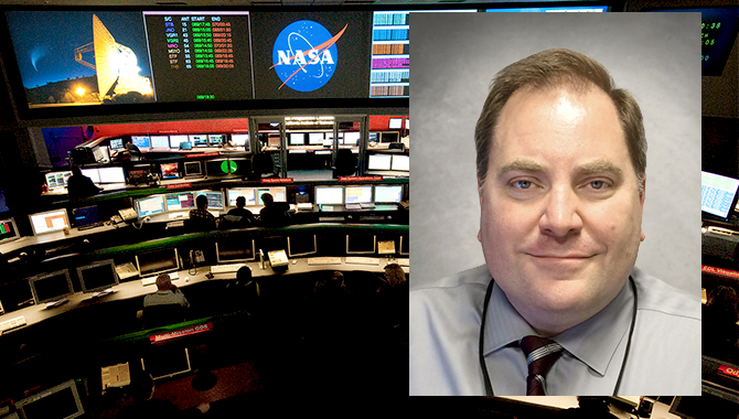 NASA CFO Knowledge Services Lead Ted Mills.