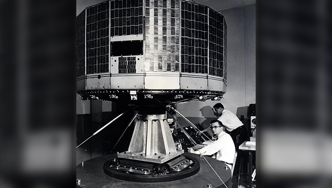 The Television InfraRed Observational Satellite (TIROS) program demonstrated the feasibility of monitoring Earth's cloud cover and weather patterns from space.
