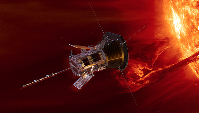 The Parker Solar Probe will fly through the Sun's corona 24 times during an ambitious mission to learn more about our star.