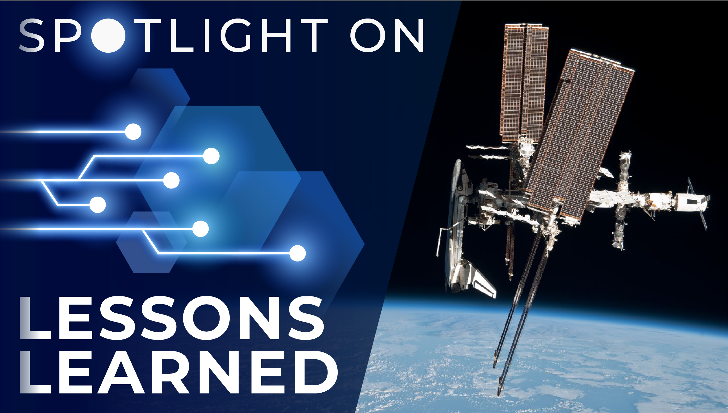 Spotlight on Lessons Learned: International Space Station Hardware Disposition Project