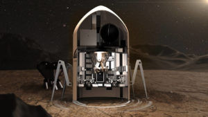 Team Zopherus from Rogers, Arkansas, is the first-place winner of Phase 3: Level 1 of NASA's 3D-Printed Habitat Challenge. The team's design includes using a moving printer that deploys rovers to retrieve local materials. Credit: NASA / Team Zopherus