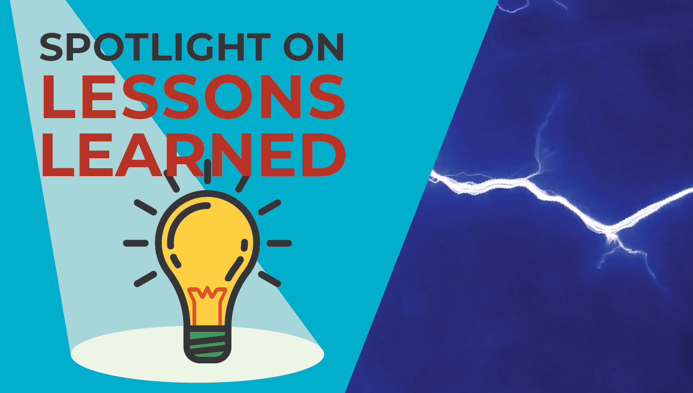 Spotlight on Lessons Learned Featured Image