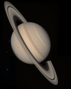 Saturn taken from Voyager 2.Credit: NASA/JPL