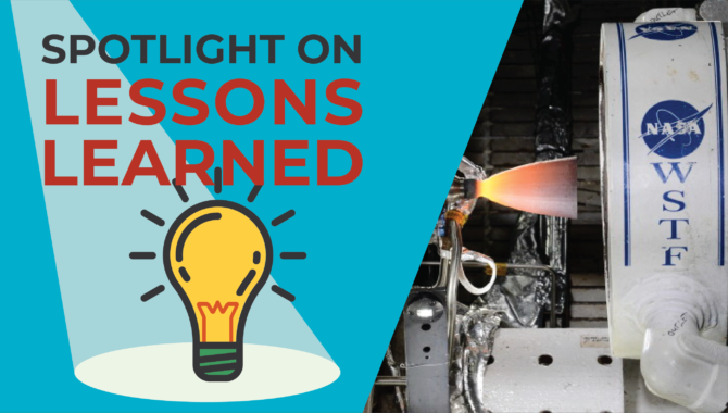 <em>Spotlight on Lessons Learned:</em> Project Management Lessons Learned on a Fast Track Engine Test