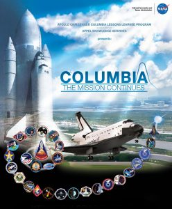 Columbia Tour poster. Credit: NASA