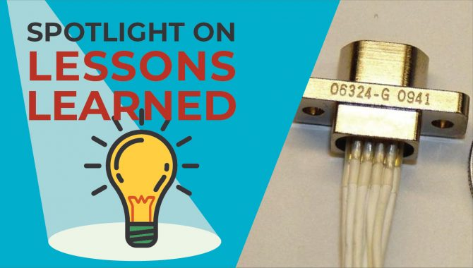 <em>Spotlight on Lessons Learned:</em> SpaceWire Cable Fabrication and Installation