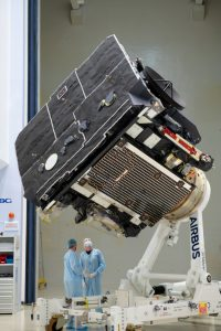 ESA's Solar Orbiter at IABG in Ottobrunn, Germany, before it starts its journey to Cape Canaveral in Florida, USA. Credit: ESA – S. Corvaja