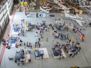 Nine university teams from across the U.S. competed in the third NASA Moon to Mars Ice and Prospecting Challenge hosted at NASA Langley Research Center, June 4-6, 2019. The teams demonstrated their prototype drills to extract the most water possible from a cooler, simulating a slice of Martian surface. Credit: NASA