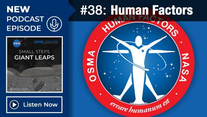 Podcast Episode 38: Human Factors