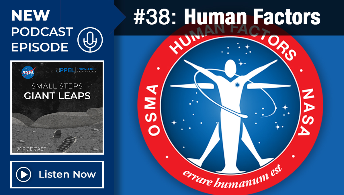 Podcast Episode 38: Human Factors