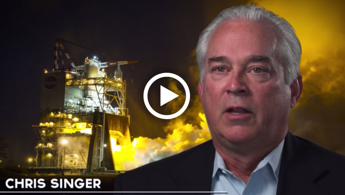 Former NASA Deputy Chief Engineer Chris Singer.
