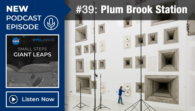 Podcast Episode 39: Plum Brook Station