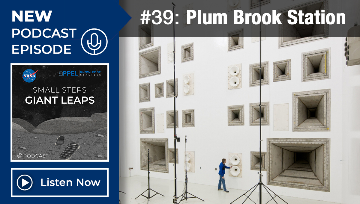 Podcast Episode 39: Plum Brook Station