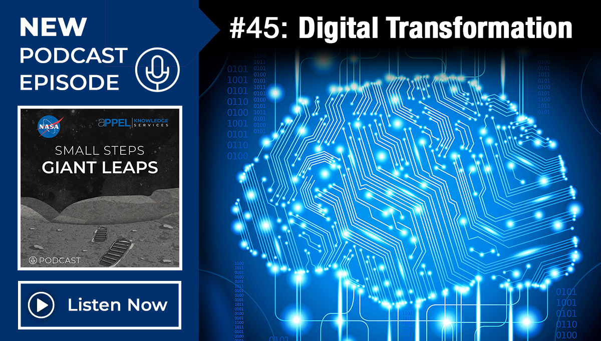 Podcast Episode 45: Digital Transformation