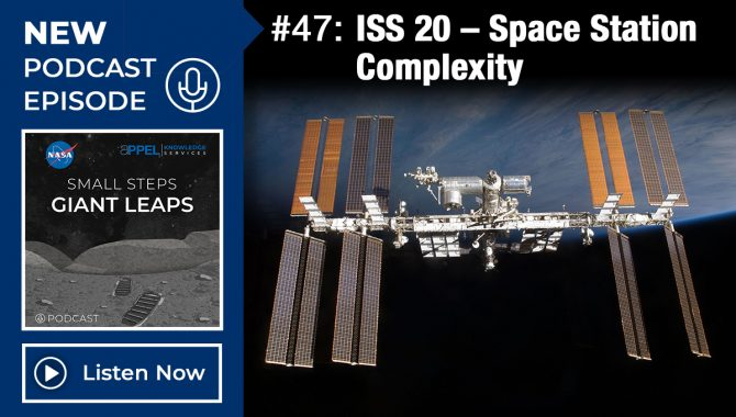 ISS 20 – Space Station Complexity