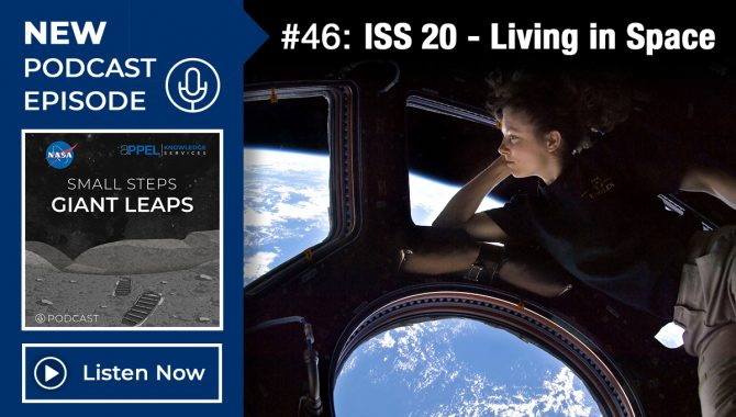 Podcast Episode 46: ISS 20 - Living in Space
