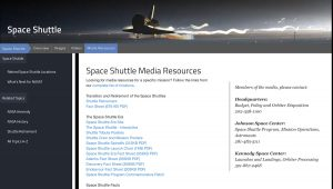 Space Shuttle Era Resources