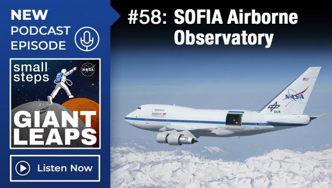 Episode 58, SOFIA Airborne Observatory