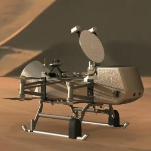 Dragonfly on Titan