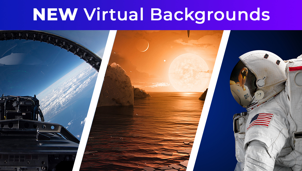 Virtual Backgrounds Page