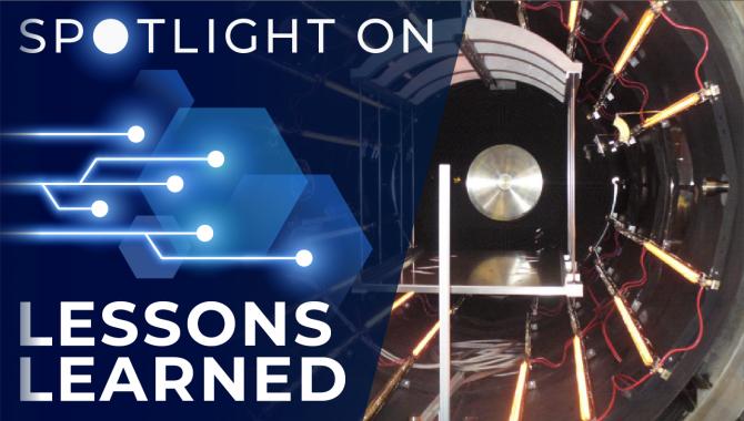 <em>Spotlight on Lessons Learned:</em> Thermal Vacuum Lamp Spectrum