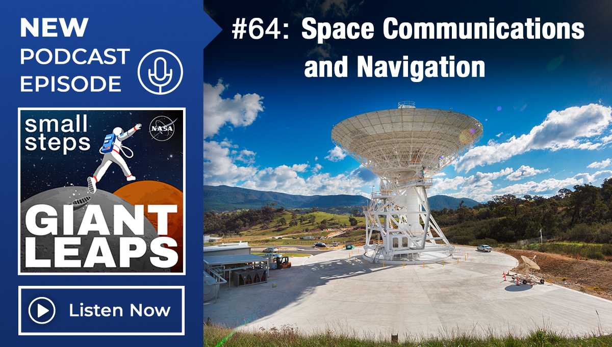 Podcast Episode 64: Space Communications and Navigation