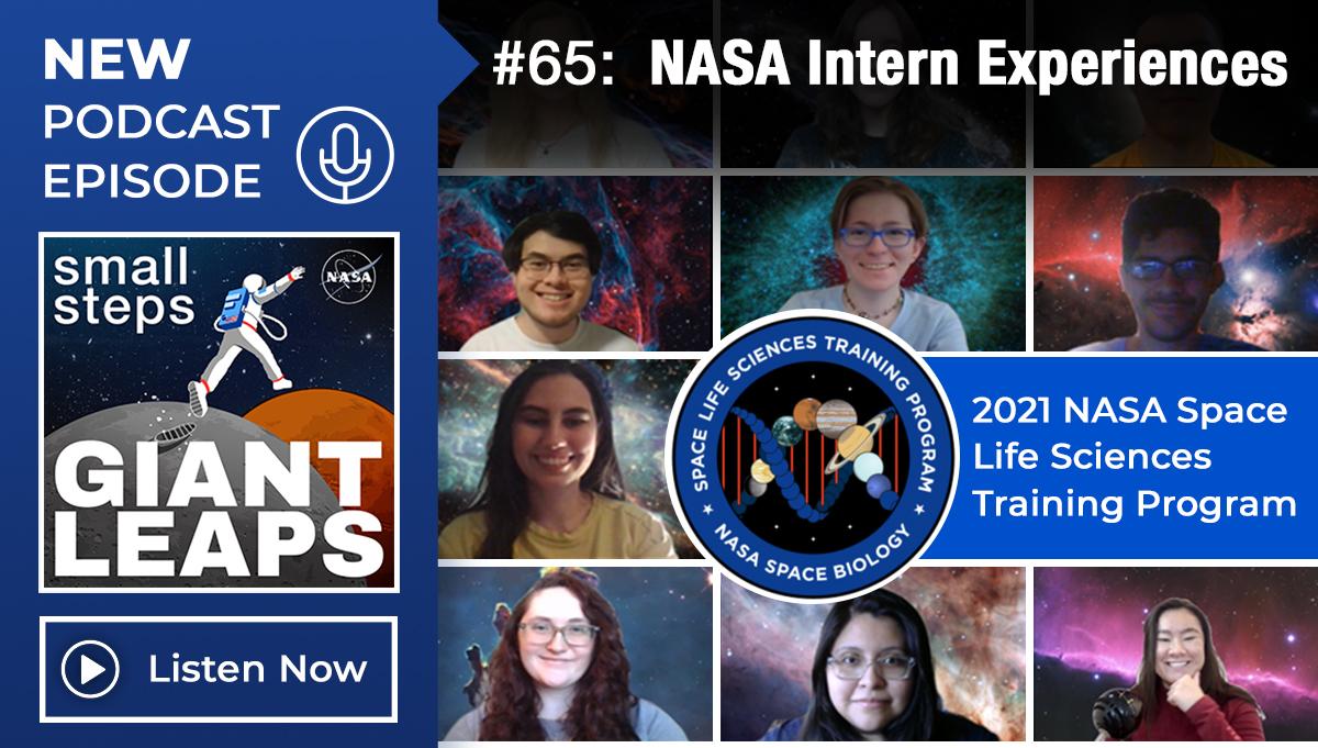 Podcast Episode 65: NASA Intern Experiences